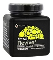 Youtheory - Men's Revive Formula - 120 Tablets