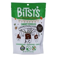 Bitsy's Brainfood - Smart Cookies Zucchini Gingerbread Carrot - 5 oz.