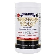 Lewis Labs - Brewer's Yeast Flakes Nutritional Yeast - 12.35 oz.
