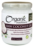 Organic Traditions - Raw Coconut Oil - 17 oz.