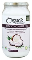 Organic Traditions - Raw Coconut Oil - 34 oz.
