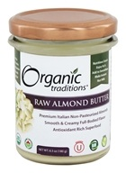 Organic Traditions - Raw Almond Butter - 6.3 oz.