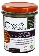 Organic Traditions - Almond Butter - 6.35 oz.