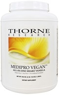 Thorne Research - Medipro Vegan All-In-One Shake Vanilla - 44.6 oz.