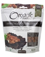 Organic Traditions - Dark Chocolate Hazelnuts - 8 oz.