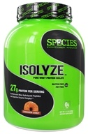 Species Nutrition - Isolyze Pure Whey Protein Isolate Cinnamon Donut - 3.1 lbs.
