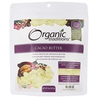 Organic Traditions - Cacao Butter - 8 oz.