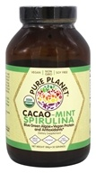 Pure Planet - Organic Cacao Mint Spirulina - 188 Grams