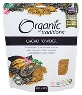 Organic Traditions - Cacao Powder - 8 oz.