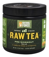 Natural Force - Raw Tea Pre-Workout Peach - 5.75 oz.