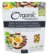 Organic Traditions - Dried Bitter Apricot Kernels - 8 oz.