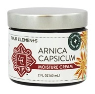 Four Elements Herbals - Moisture Cream Arnica Capsicum - 2 oz.