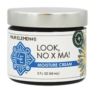 Four Elements Herbals - Moisture Cream for Eczema Look, No X Ma - 2 oz.