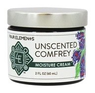 Four Elements Herbals - Moisture Cream Unscented - 2 oz.