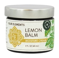 Four Elements Herbals - Moisture Cream Lemon Balm - 2 oz.