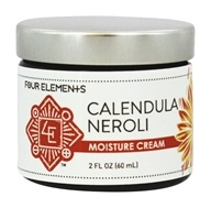 Four Elements Herbals - Moisture Cream Calendula Neroli - 2 oz.