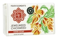 Four Elements Herbals - Hand Soap Jewelweed Chickweed - 3.8 oz.