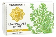 Four Elements Herbals - Hand Soap Lemongrass Thyme - 3.8 oz.