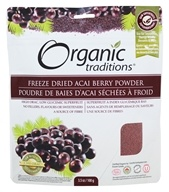 Organic Traditions - Freeze Dried Acai Berry Powder - 3.5 oz.