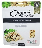 Organic Traditions - Sacha Inchi Seeds - 5.3 oz.