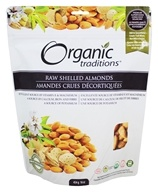 Organic Traditions - Raw Shelled Almonds - 16 oz.