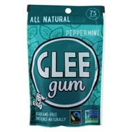 Glee Gum - All Natural Chewing Gum Peppermint - 75 Piece(s)