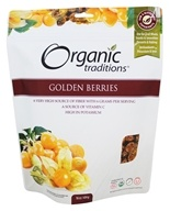 Organic Traditions - Golden Berries - 16 oz.