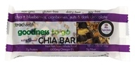 TracHealth - Chia + Blueberries, Cranberries, Nuts and Dark Chocolate Chia Bar - 1.76 oz.