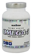 Blue Star Nutraceuticals - Omega-3 Pharmaceutical Grade Omega-3 Oils - 90 Softgels