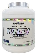 Blue Star Nutraceuticals - Whey Smooth Pharmaceutical Grade Protein Shake Vanilla Cupcake - 4 lbs.