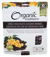Organic Traditions - Dark Chocolate Golden Berries - 5.3 oz.