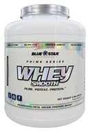 Blue Star Nutraceuticals - Whey Smooth Pharmaceutical Grade Protein Shake Chocolate Covered Banana - 4 lbs.