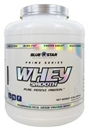 Blue Star Nutraceuticals - Whey Smooth Pharmaceutical Grade Protein Shake Milk & Cookies - 4 lbs.