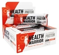 Health Warrior - Superfood Protein Bar Peanut Butter Cacao - 12 Bars