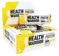 Health Warrior - Superfood Protein Bar Lemon Goldenberry - 12 Bars