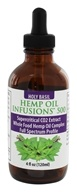 CBD Infusions - Cannibidiol Rich Hemp Oil With Supercritical CO2 Holy Basil Oil 500 mg. - 4 oz.