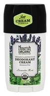 Nourish - Organic Deodorant Cream Lavender Mint - 2 oz.