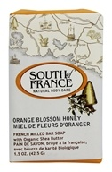 South of France - French Milled Vegetable Bar Soap Orange Blossom Honey - 1.5 oz.