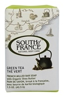 South of France - French Milled Vegetable Bar Soap Green Tea - 1.5 oz.