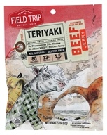 Field Trip - All Natural Gluten Free Beef Jerky Teriyaki - 2.2 oz.