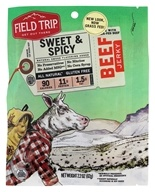 Field Trip - All Natural Gluten Free Beef Jerky Sweet & Spicy - 2.2 oz.