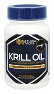 Natural Stacks - Krill Oil - 60 Softgels