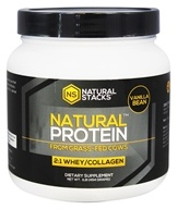 Natural Stacks - Natural Protein Madagascar Vanilla Bean - 1 lbs.