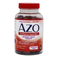 Azo - Cranberry Gummies Mixed Berry - 72 Gummies