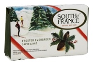 South of France - French Milled Vegetable Bar Soap Frosted Evergreen - 3.5 oz.