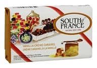 South of France - French Milled Vegetable Bar Soap Vanilla Creme Caramel - 3.5 oz.