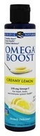 Nordic Naturals - Omega Boost Creamy Lemon 570 mg. - 6 oz.