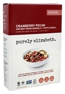 Purely Elizabeth - Organic Ancient Granola Cereal and Puffs Cranberry Pecan - 8 oz.