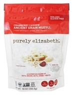 Purely Elizabeth - Ancient Grain Muesli Cranberry Cashew - 10 oz.