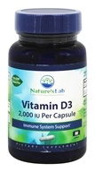 Nature's Lab - Vitamin D3 2000 IU - 60 Capsules